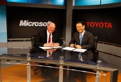 Microsoft And Toyota Bringing The Cloud To Cars