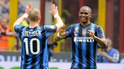 Inter move up to second