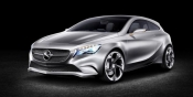Mercedes-Benz debuts tablet-packing A-Class concept